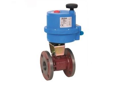 Запорная арматура газа электропривод